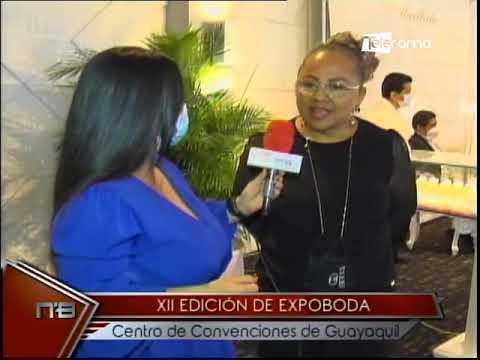 XII edición de Expoboda centro de convenciones de Guayaquil