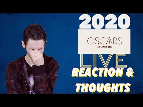 2020 Oscars Nominations LIVE Reaction and Thoughts