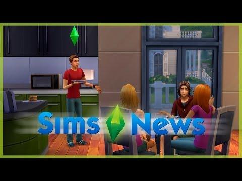 Sims News - Набор Sims Store, музыка в игре, разговорные действия