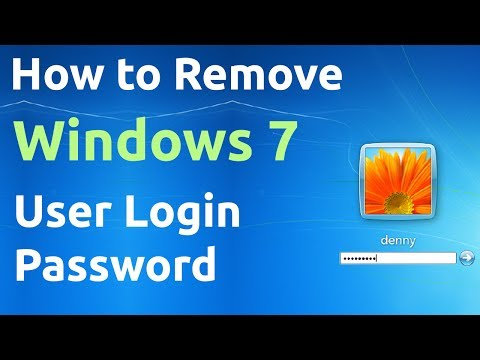 How to Remove Windows 7 User Login Password