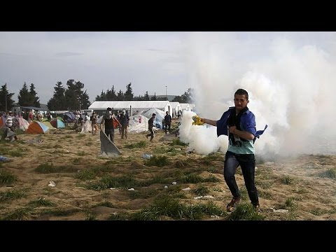 Ειδομένη: Σάλος από την βία των Σκοπιανών αρχών σε βάρος μεταναστών