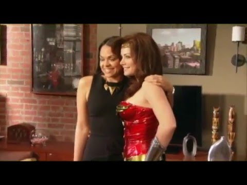 Harry's Law Behind The Scenes: Erica Durance scenes (2012)