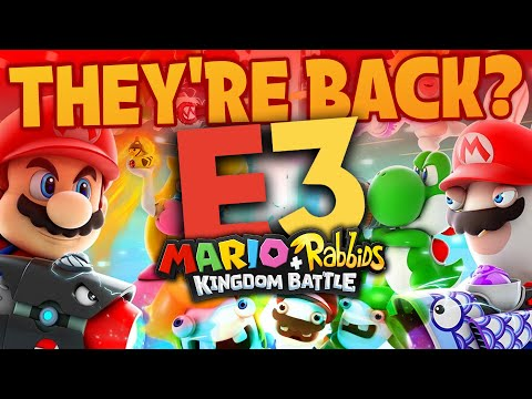 Rumor: HUGE E3 Leak From 100% Record Leaker! New Mario + Rabbids and More!