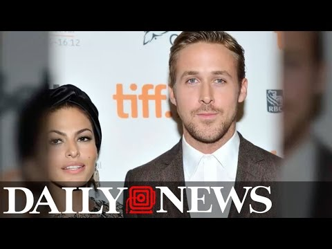 Eva Mendes responds to Ryan Gosling's sweet Golden Globes speech in most subtle way ever (видео)