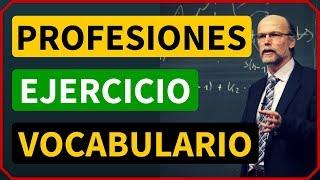 Las profesiones y ocupaciones en inglés Ejercicios de vocabulario en inglés con imágenes  2