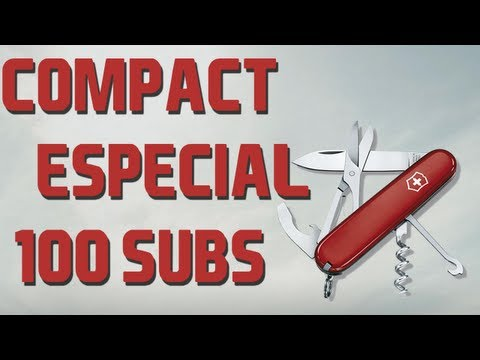 VICTORINOX COMPACT - SWISS ARMY KNIFE REVIEW