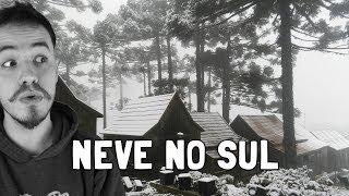 Você sabia que Vacaria já teve 2 metros de neve? Que Santa Catarina é mais fria que o RS? Que Gramado não neva sempre?
