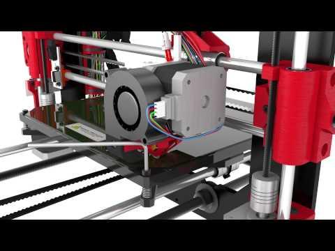 Levelling of the BQ Prusa i3 Hephestos printing base