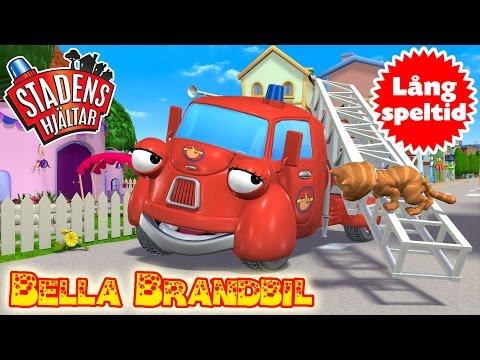 Stadens Hjältar - Samling Med Bella Brandbil - Lång speltid för små barn
