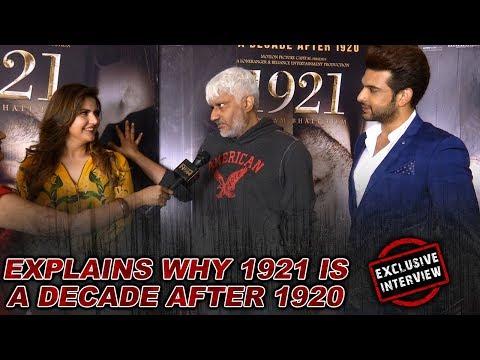 Zarine Khan, Karan Kundra & Vikram Bhatt Laughing