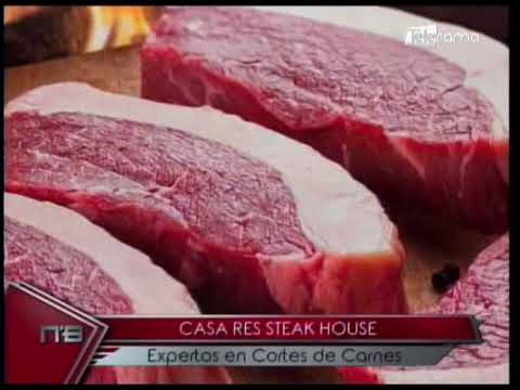 Casa Res Steak House expertos en cortes de carnes