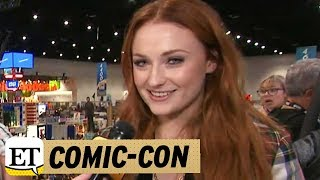 More from Entertainment Tonight: http://bit.ly/1xTQtvw ET caught up with the 'Game of Thrones' starlet at San Diego Comic-Con on...