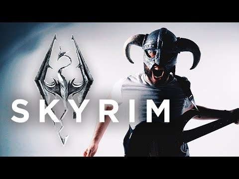 "Skyrim Theme - ""Dragonborn"" Metal/Rock Cover by Jonathan Young"