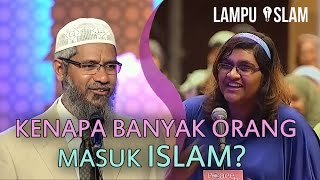 Video Gadis Kristen Penasaran Kenapa Banyak Orang Masuk Islam? | Dr. Zakir Naik MP3, 3GP, MP4, WEBM, AVI, FLV Oktober 2018