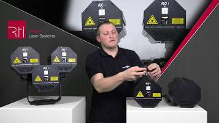 RTI NEO ONE Lasersystem - modular, DMX, Made in Germany