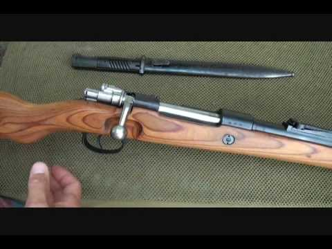 K98 Mauser German WWII Rifle