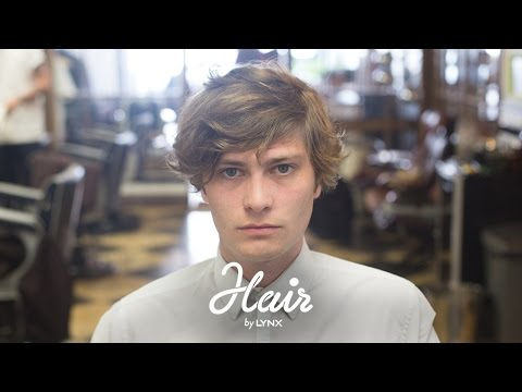 Hair by Lynx – The Messy Look | Men's Hairstyles 2014