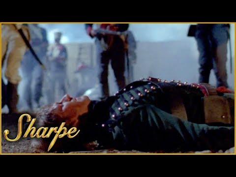 Sharpe Is Forced To Retreat & Gets Shot | Sharpe
