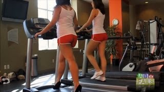 Treadmill Fail Compilation 2012 || ABC