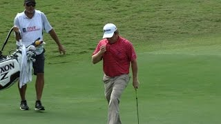 William McGirt knocks down long putt from off the green at the TOUR Championship by PGA TOUR
