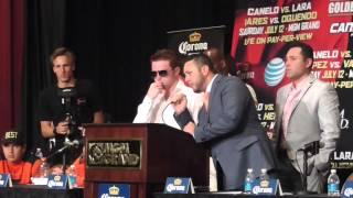 Saul Canelo Alvarez Vs. Erislandy Lara Post fight interview raw