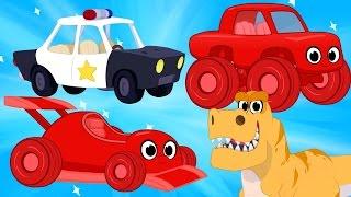 Video Race Cars, Police Cars, Dinosaurs, trucks + firetrucks superheroes(Morphle's Crazy Dream Kids Video) MP3, 3GP, MP4, WEBM, AVI, FLV Mei 2017