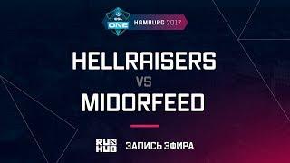 Hellraisers vs MidOrFeed, ESL One Hamburg 2017, game 1 [ Maelstorm, LightOfHeaven]