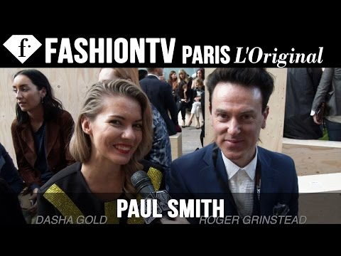 fashiontv - http://www.FashionTV.com/videos LONDON - FashionTV talks to fashionable guests front row at the Paul Smith Spring/Summer 2015 runway show during London Fashion Week. Appearances: Dasha Gold,...