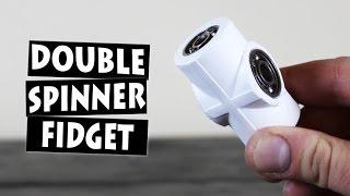 Video DIY Double Hand Spinner Fidget Toy MP3, 3GP, MP4, WEBM, AVI, FLV September 2017