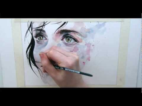 Speed Watercolor Painting