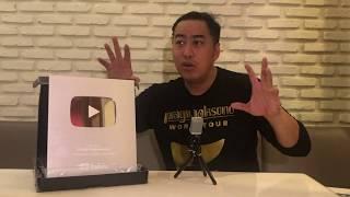 Video Unboxing Silver Play Button & Giveaway 2 tiket Pragiwaksono Jakarta! MP3, 3GP, MP4, WEBM, AVI, FLV November 2018