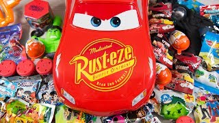 HUGE Lightning McQueen Surprise Eggs Opening Disney Cars 3 Toys for Boys Blind Bags Kinder Playtime  Today on Kinder Playtime, our friend, Lightning McQueen is here to share tons of blind bags, surprise toys, and surprise eggs with us!  He brought us lots of cool surprise toys from Disney's Pixar Cars 3 and other surprises from Mashems to Kinder Joy Chocolate Surprise Eggs to lots of Super Hero Blind Bags!  Thanks so much Lightning McQueen for joining us today on Kinder Playtime!Toys featured in this Kinder Playtime Surprise Toy Video:Disney's Pixar Cars 3 Lightning McQueen by MattelCars 3 Lightning McQueen Mashems Surprise EggsCars 3 Lightning McQueen Ooshies Blind BagsMashems Spiderman Blastems Surprise EggKinder Joy Chocolate Surprise Eggs for BoysMighty Morphin Power Rangers Figural Keyring Blind BagThe Incredible Hulk Surprise BalloonA Space Blaster GunDC Comics Super Hero Ooshies Blind BagsA Zombie Claw ArmTransformers Mashems Surprise EggsTeen Titans Go Surprise Toys Blind BagZomlings In the Town Blind BagMighty Morphin Power Rangers Pint Size Heroes Blind BagStar Wars MyMoji Blind BagToy Story Minis Blind BagImaginext DC Super Friends Blind BagLEGO Mystery Minifigures Blind BagMarvel TSUM TSUM Series 3 Blind BagPJ Masks Collectible Figure Blind BagThomas and Friends Thomas Minis Blind BagNickelodeon Collector Keyrings Blind BagHot Wheels Mystery Models Blind BagMore Kinder Playtime Surprise Toy Openings!HUGE Kinder Playtime Surprise Eggs Toy Opening 500,000 Subscribers Toys for Boys & Girls Blind Baghttps://www.youtube.com/edit?o=U&video_id=xldjJNtr8ZQHUGE Iron Man Surprise Helmet Super Hero Toys for Boys Surprise Ooshies Marvel Toys Kinder Playtimehttps://www.youtube.com/edit?o=U&video_id=7Lq8qqz1iksHUGE Teenage Mutant Ninja Turtles Surprise Bucket TMNT Super Heroes Toys for Boys Kinder Playtimehttps://www.youtube.com/watch?v=YRG8z35baq8HUGE LEGO Batman Surprise Present Super Hero Blind Bags Toys for Boys Kinder Playtimehttps://www.youtube.com/watch?v=X3cB4d14LywHUGE Spiderman Surprise Present for Kids Super Hero Toys for Boys Pokemon Minecraft Kinder Playtimehttps://www.youtube.com/watch?v=CjWaApSDUTkHUGE Paw Patrol Surprise Present from Santa Claus Christmas Toys for Boys Blind Bags Kinder Playtimehttps://www.youtube.com/watch?v=_B9yb42I2ioHUGE Teenage Mutant Ninja Turtles Advent Calendar Surprise Toys TMNT Christmas Toys Kinder Playtimehttps://www.youtube.com/watch?v=gKSBN5eslRwHUGE Tonka Truck Surprise Toys Bucket Toy Truck Surprise Egg Trucks Toys for Boys Kinder Playtimehttps://www.youtube.com/watch?v=ODWi1pX6n_UHUGE Minions Surprise Egg Despicable Me Kevin Surprise Toys Funny Toy for Kids Kinder Playtimehttps://www.youtube.com/watch?v=CEQakilk81YHUGE FINDING DORY SURPRISE POOL Toy Surprise Eggs Disney Toys Boy Toys Girl Toys Kinder Playtimehttps://www.youtube.com/watch?v=dJV9lkevzgoHUGE Popcorn Surprise Bucket Toys Finding Dory Frozen Elsa TMNT Ninja Turtles Kinder Playtimehttps://www.youtube.com/watch?v=ZTyAxUjLhd0Huge Mashems & Fashems Surprise Toy Finding Dory Ninja Turtles Batman Paw Patrol MLP Kinder Playtimehttps://www.youtube.com/watch?v=I3nj3BCvjxoHUGE Finding Dory Surprise Box & Toy Bag Elmo Toys Shopkins Blind Bags Disney Toys Kinder Playtimehttps://www.youtube.com/watch?v=W0g7IPl3nHoHUGE Avengers Captain America Surprise Toy Box Yo-Kai Watch Toy Cars Spiderman Toys Kinder Playtimehttps://www.youtube.com/watch?v=pdTtd85gFH0HUGE Star Wars Surprise Egg Darth Vader Surprises BB-8 Toy Mario Brothers Hot Wheels Kinder Playtimehttps://www.youtube.com/watch?v=yGfQ5yXntekHUGE Ninja Turtles Surprise Bucket TMNT & Kid Surprise Toys for Boys Cars Kids Toy Kinder Playtimehttps://www.youtube.com/watch?v=AaAj_50wotM