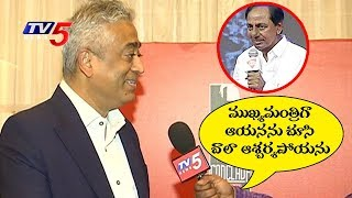 Rajdeep Sardesai Awestruck By Telangana Chief Minister KCR Confidence And Determination