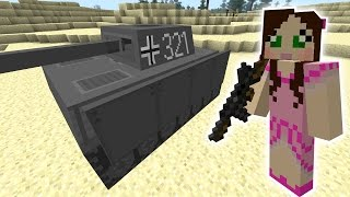 Minecraft: GIANT TANK RAMPAGE MISSION - The Crafting Dead [45]