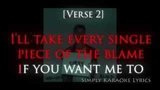 Justin Bieber - Sorry - Karaoke Lyrics