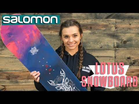 2018 Salomon Lotus Snowboard - Review - TheHouse.com