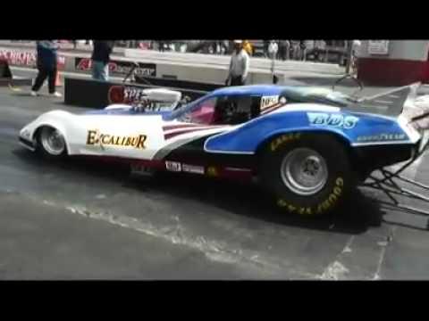 Excalibur Corvette Nostalgia Funny Car