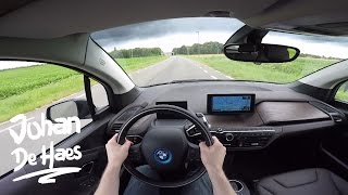 POV test drive video of the new 2016 BMW i3 with a higher cell capacity of 94 ampere hours. The BMW i3 has a hybrid synchronous electric motor that delivers ...