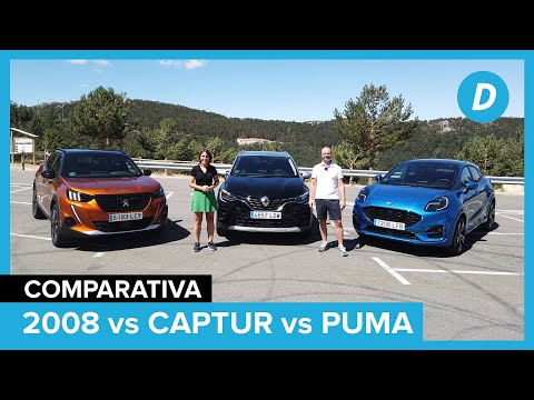 Comparativa SUV: Ford Puma vs Renault Captur vs Peugeot 2008 | Review en español | Diariomotor