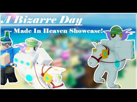 Made In Heaven Showcase A Bizarre Day | ABD Showcasing MIH | Roblox
