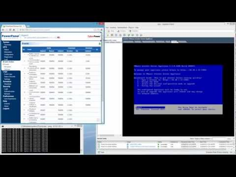 UPS for power outages, here's how to configure automated shutdown of VMware ESXi server and VMs