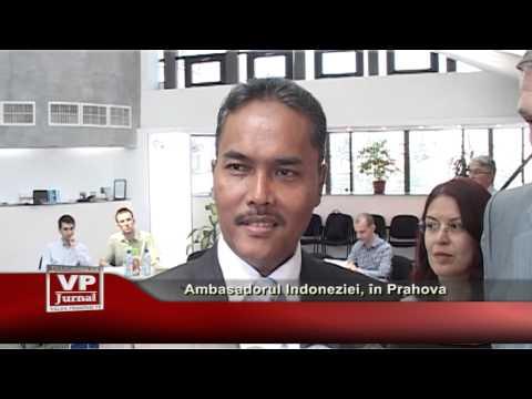 Ambasadorul Indoneziei, in Prahova