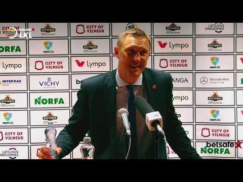 """""""Betsafe–LKL"""" rungtynių komentarai: """"Lietuvos rytas"""" - """"Juventus"""" [2018-05-11]"""