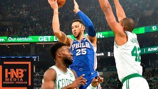 Boston Celtics vs Philadelphia Sixers 1st Half Highlights | 10.16.2018, NBA Season