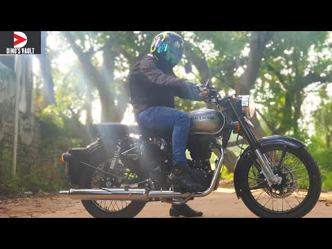 Royal Enfield Classic 350S Review & Tribute to Royal Enfield #DinosVlogs