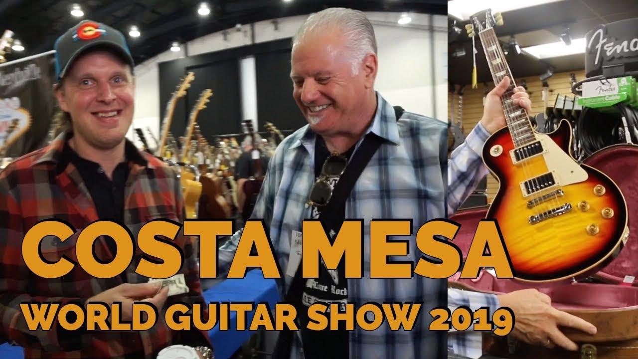 Norm shopping at the Costa Mesa World Guitar Show 2019 | Norman's Rare Guitars
