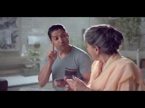 IndusInd Bank-IndusInd Bank - Fingerprint Banking TVC featuring Farhan Akhtar & Ratna Pathak