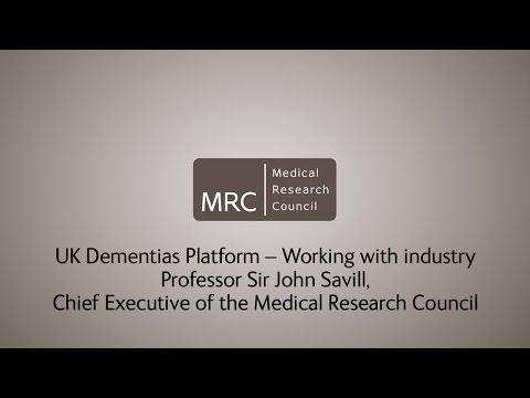 UK Dementias Research Platform - Sir John Savill