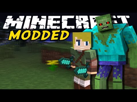 THE CEMETARY! Minecraft Modded Ep. 15