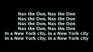 Nas - The Don (Lyrics On Screen) [Life Is Good]